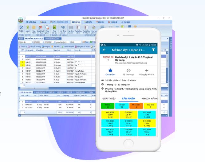 Tận dụng nguồn khách hàng cũ bằng phần mềm City BĐS 4.0